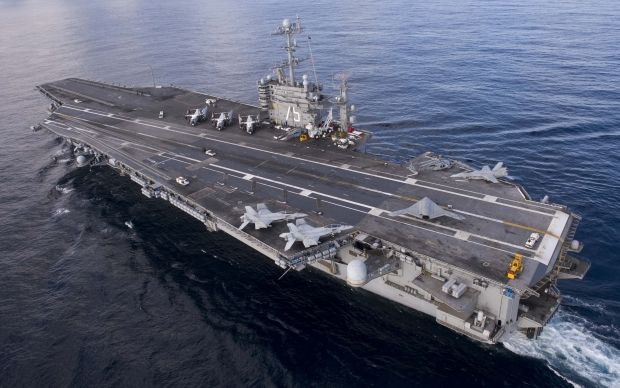 USS Harry Truman гарри трумэн авианосец / wikipedia.org