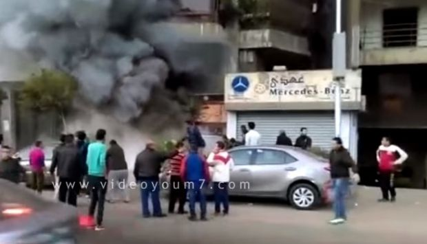 Molotov explosive kills 16 people at Cairo restaurant