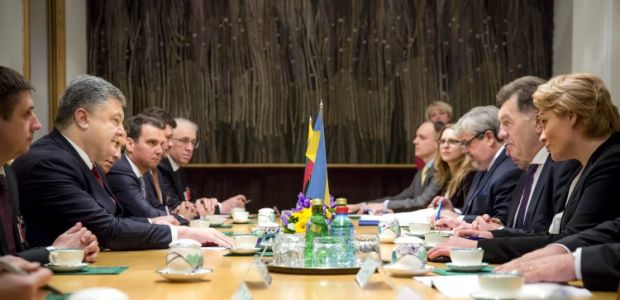 Poroshenko expressed willingness to assist in the construction of a gas pipeline between Poland and Lithuania / Photo from UNIAN
