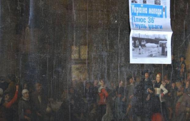 The Westfries Museum asks the Ukrainian authorities to help return stolen art / Photo from nos.nl/