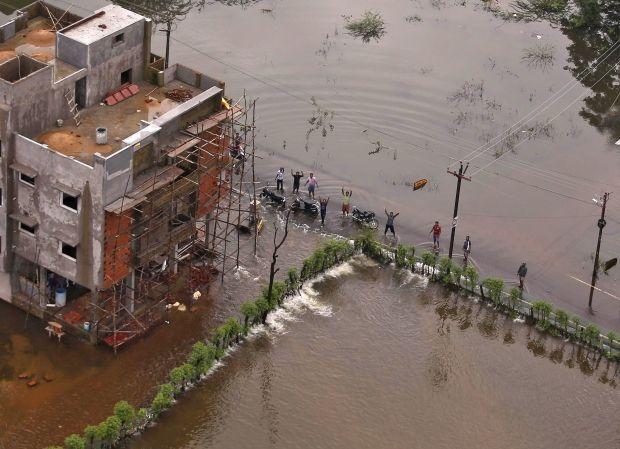 На юге Индии бушуют самые сильные ливни за последние 100 лет