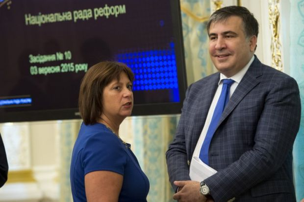 Saakashvili has set his sights on the prime minister's post / Photo from UNIAN