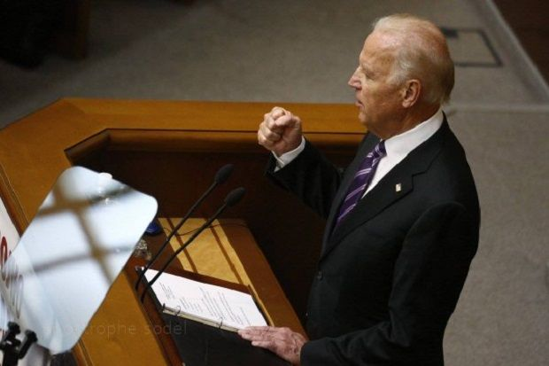 Biden addressed Ukraine's Verkhovna Rada on Tuesday  / Photo from Vlad Sodel