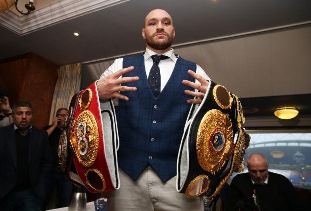 Ф'юрі позбавили відібраного уКличка титулу чемпіона світу заверсією IBF,— джерело