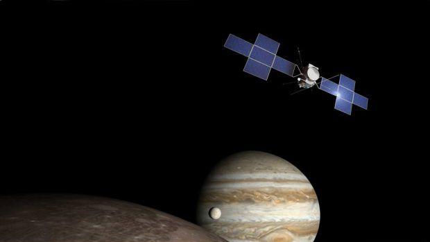 ВNASA показали фото огромного темного пятна наЮпитере