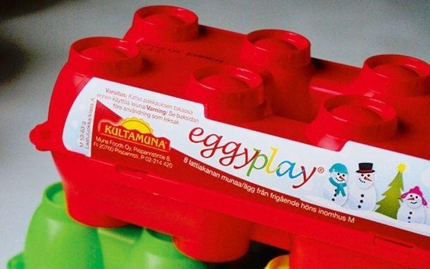Пластиковая коробка для яиц / Фото: Suomen Luonto