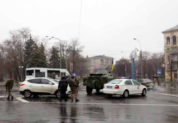 Полиция Донецкой области усилила проверки транспорта, выезжающего из зоны АТО