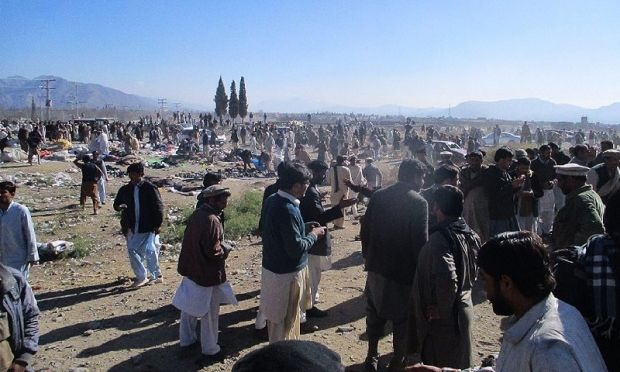 20 people were killed and another 55 wounded in an explosion in Pakistan / dawn.com