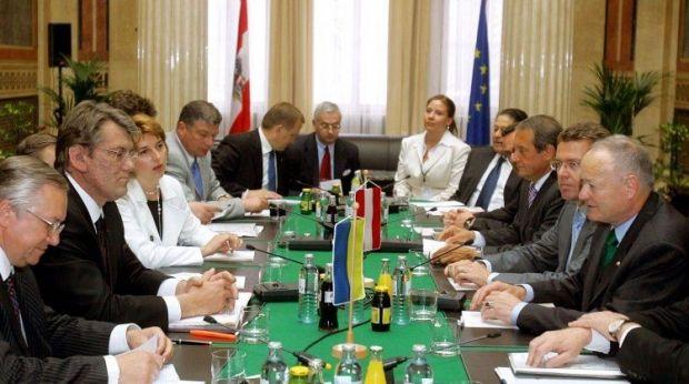 Yelchenko as Ukraine's Ambassador to Austria / Photo from UNIAN