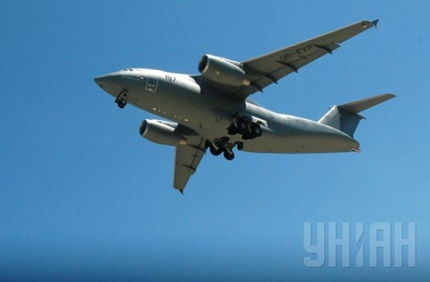 An-178 mid-range cargo aircraft / Photo from UNIAN