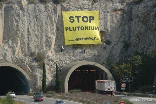 Плутоний / иллюстрация Greenpeace
