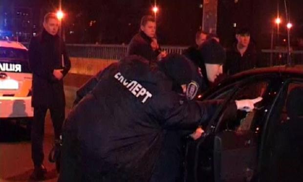 обстрел такси киев оболонь / mvs.gov.ua