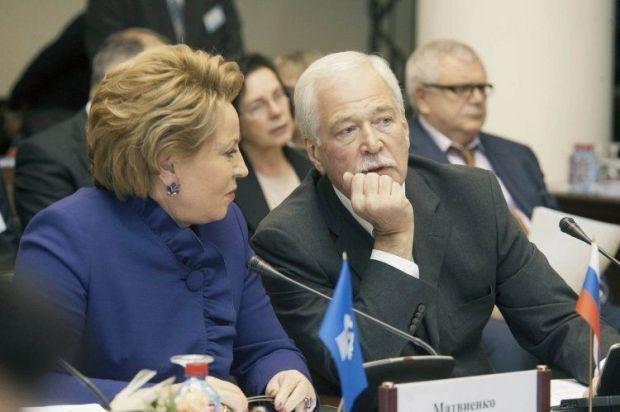 Gryzlov met with Poroshenko in Kyiv / Photo from UNIAN