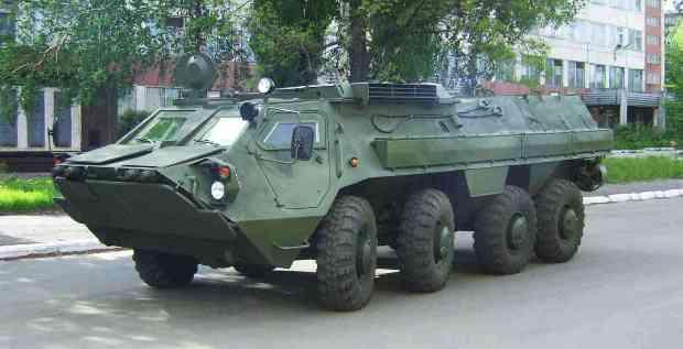 BTR-4 APC / www.morozov.com.ua