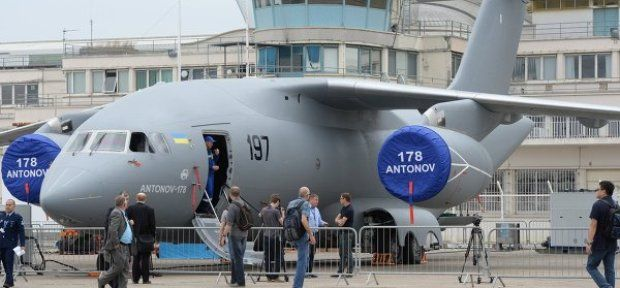 Antonov's main achievement of 2015 was the presentation of the first An-178 / rian.com.ua