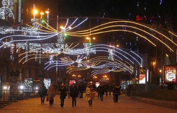 В новогоднюю ночь в Киеве будет морозно / Фото УНИАН