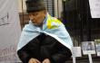 Активісти пікетують російське посольство у Києві <br> twitter.com/Bezruck, twitter.com/ivaputilov