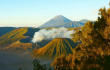 На востоке острова Ява в Индонезии извергается вулкан Бромо.  <br> instagram/instagep