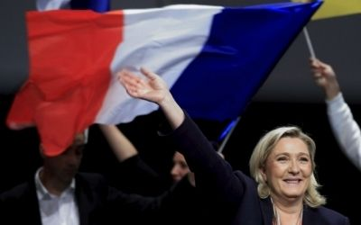 Kremlin's French front title=