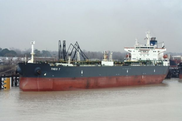 танкер theo t / shipspotting.com