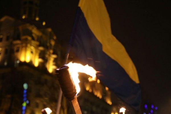 бандера шествие киев / hromadske.tv