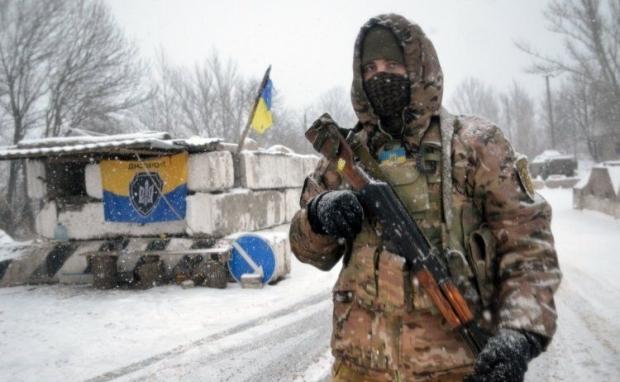 АТО, Донбасс, военные, военный / Фото УНИАН