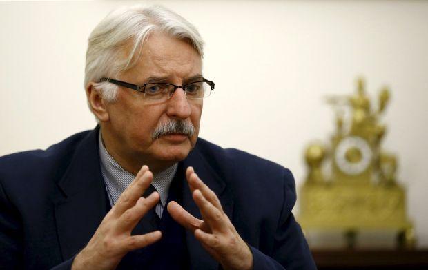 Министр иностранных дел Польши Витольд Ващиковский / REUTERS