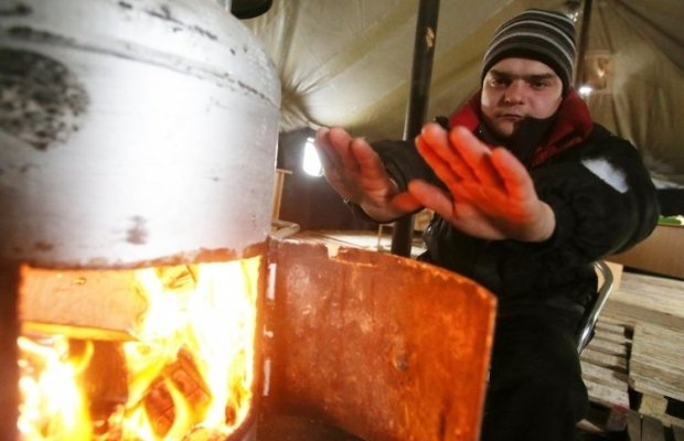 2,026 heating points were opened by local authorities / Photo from UNIAN