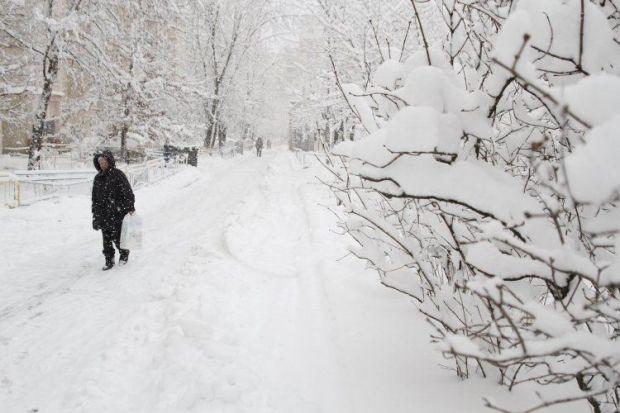 Зима, погода, снег / Фото УНИАН