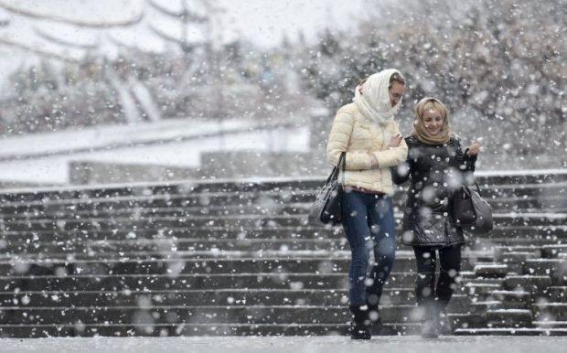 снег, погода / Фото УНИАН