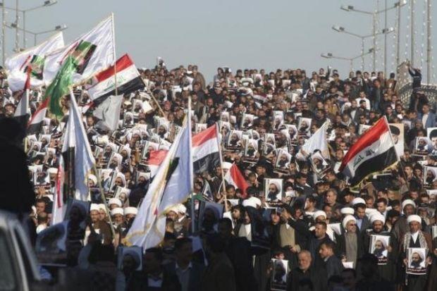 ирак шииты протест / REUTERS