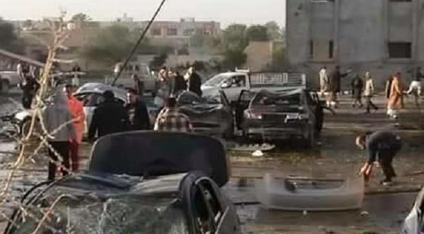 В Ливии смертник атаковал тренировочный лагерь полиции / @Conflicts