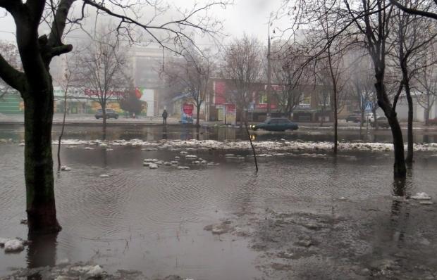 В Мариуполе прошли сильные дожди / Фото УНИАН