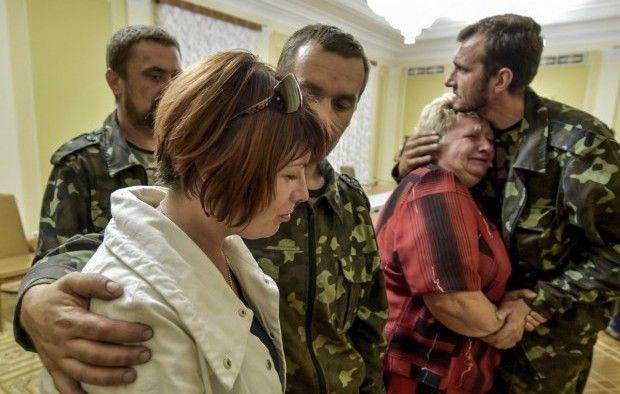 заложники освобождение / Фото УНИАН