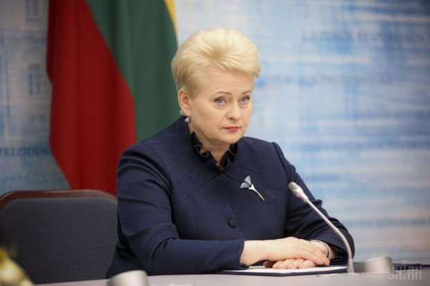 The Lithuanian president greets Ukraine with a positive report by the EC on visa liberalization / Photo from UNIAN