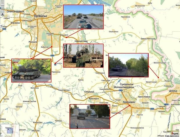 Participation of the 200th Separate Motorized Infantry Brigade in the Donbas war in 2014 / Image from sled-vzayt.livejournal