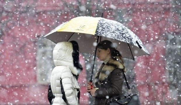 Снег / Фото УНИАН