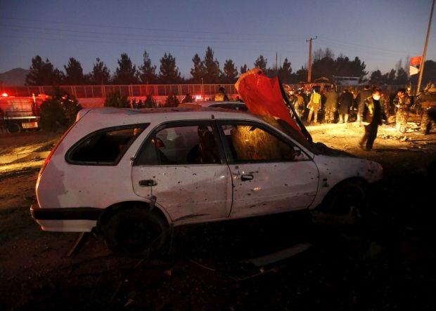 ВКабуле смертник взорвал автобус сработниками суда, погибли 10 человек