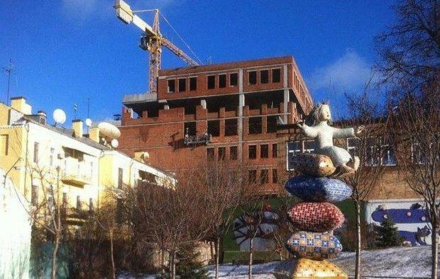 Скандальный дом в Десятинном переулке / facebook.com/marina.solovyeva.581