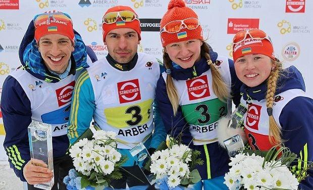 Биатлонист Александр Дорожко занял третье место в гонке преследования на этапе Кубка IBU