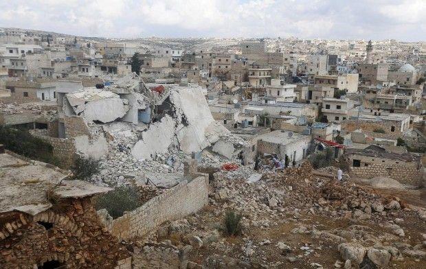 алеппо сирия / REUTERS