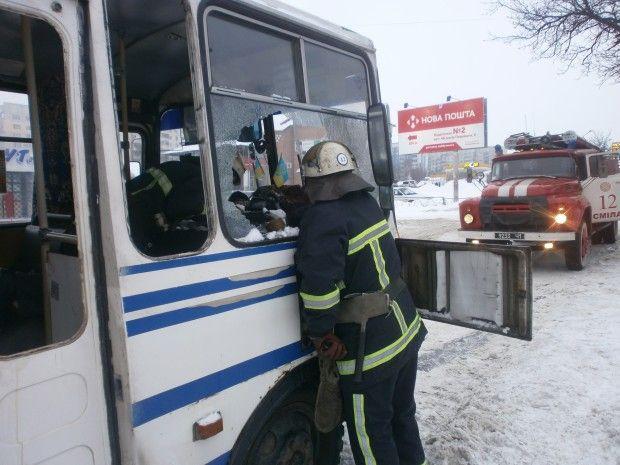 смела паз автобус загорелся / ck.mns.gov.ua
