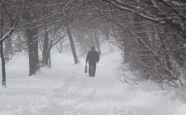 туман, зима, снег / Фото УНИАН