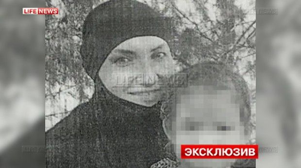 Female suicide bomber is on a list drafted by propaganda TV channel / Screenshot