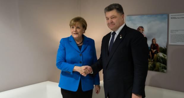 порошенко меркель / president.gov.ua