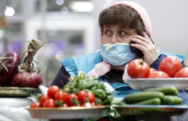 Масочный режим на одном из рынков / Фото: УНИАН
