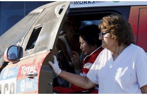 Наралі вАргентині авто в'їхало внатовп глядачів