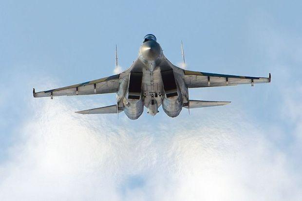 Российские истребители Су-35С на днях были переброшены в Сирию / wikimedia.org/Alex Beltyukov