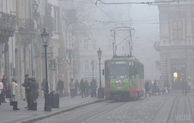 Туман / Фото УНИАН