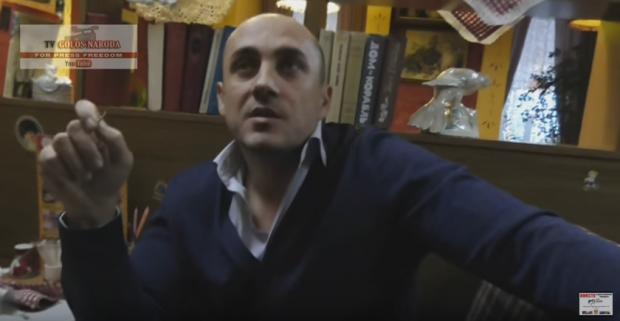 Під вартою в київському слідчому ізоляторі СБУ він був 8 місяців / Скріншот